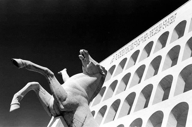 La Roma del ventennio fascista