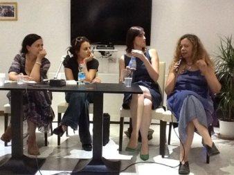 Con Loredana Lipperini, Giulia Blasi, Chiara Lalli