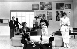 Con Nino Manfredi, Fioretta Mari, Gianluca Guidi