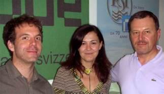 Nella sede della Radio Svizzera