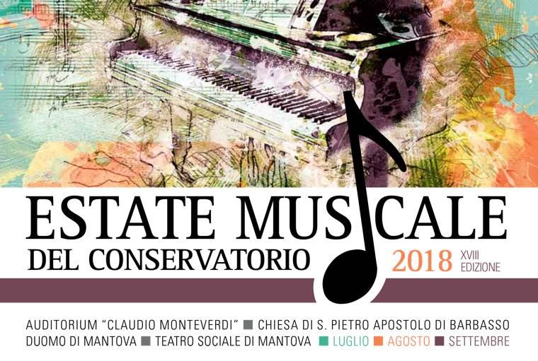 Logo Estate Musicale 2018 | Conservatorio di Mantova