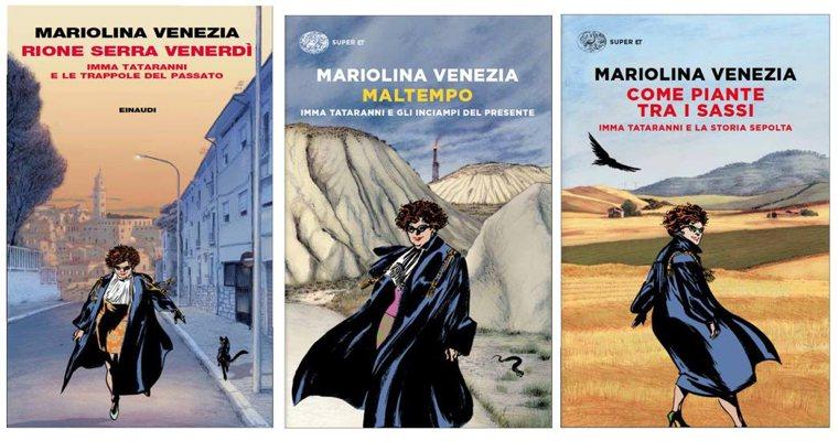 I tre romanzi polizieschi di Mariolina Venezia