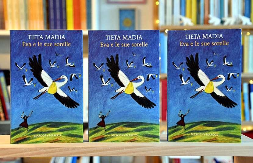 """Il libro """"Eva e le sue sorelle"""" di Tieta Madia"""