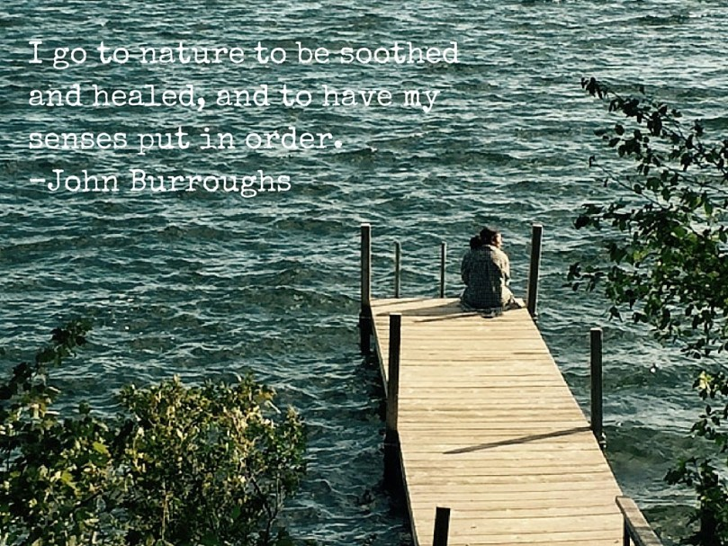 John Burroughs senses nature heal sooth