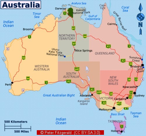 Map Of Australia Facts.25 Australian Landscapes Maps Pictures And Ideas On Pro Landscape