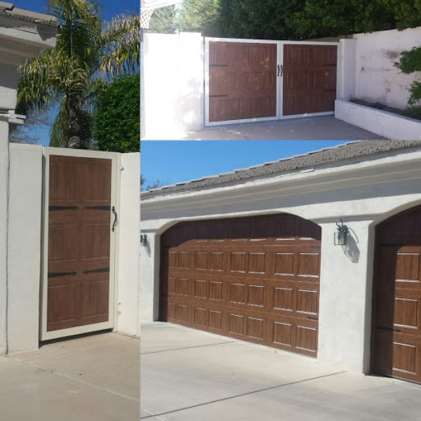 Rite-A-Way Garage Door Repair - Wooden Gate Collage