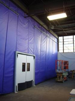 Loading Dock Curtains Provide Temperature Control for