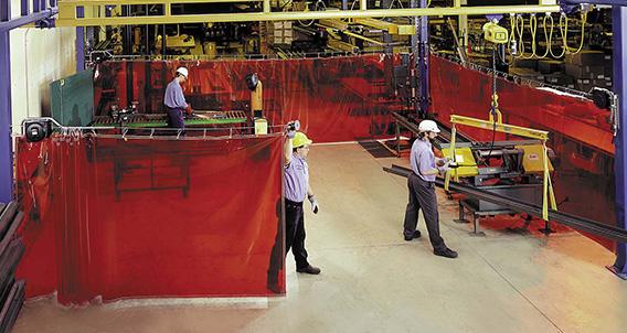 XTen  Industrial Safety Curtain  RiteHite