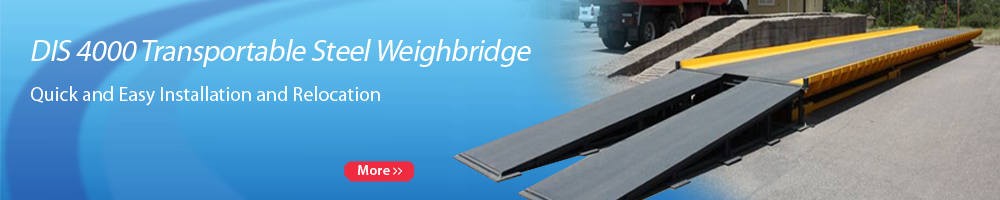 DIS 4000 Transportable Steel Weighbridge
