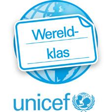 UNICEF De Wereldklas logo
