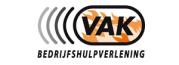 Logo van VAK bedrijfshulpverlening