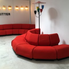 Chadwick Sofa Walmart Costa Rica Cama Red Modular By Don For Herman Miller Ritter Studio