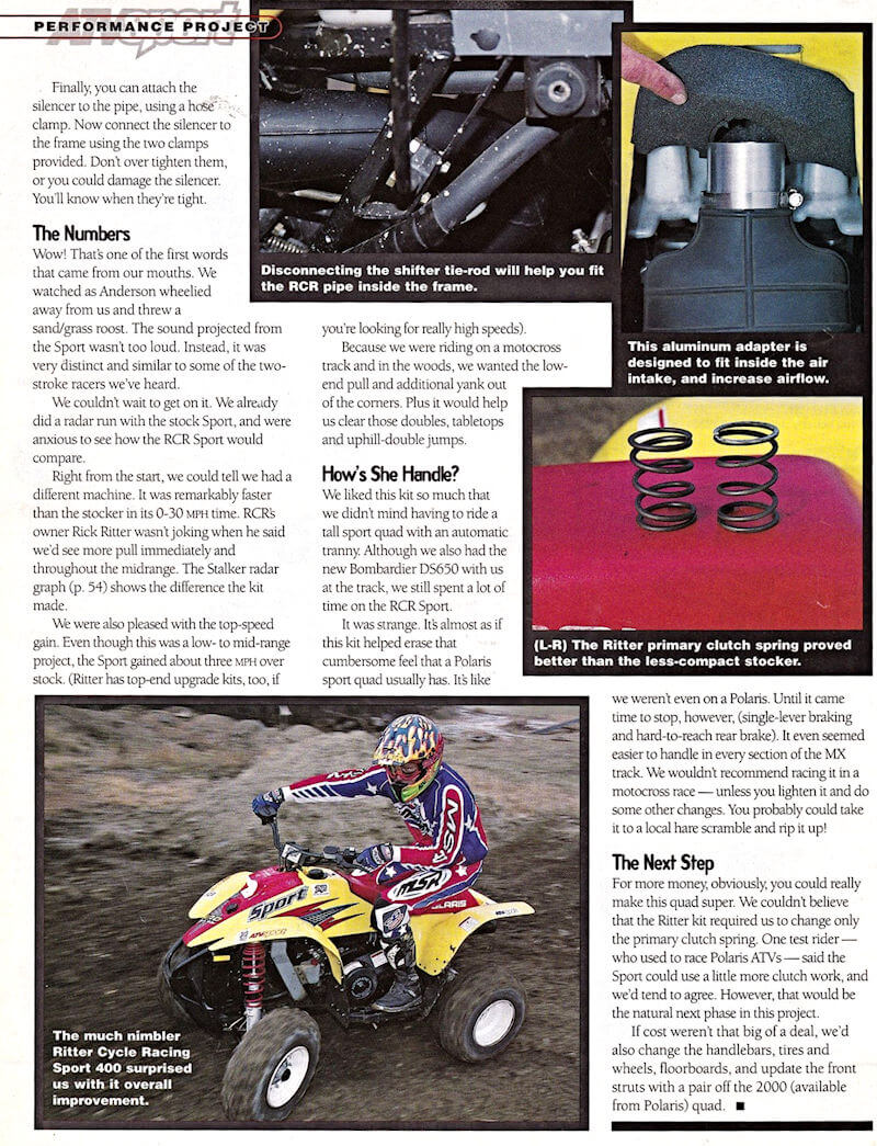 RCR Review Magazine Page 4