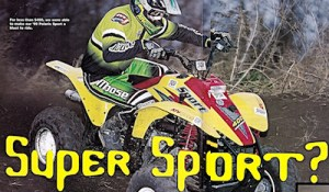 Magazine review of Ritter Cycle Racing Inc products