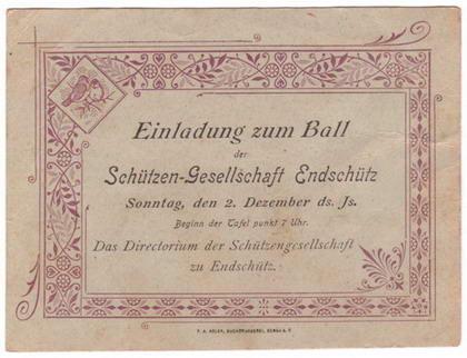 Einladung zum Ball