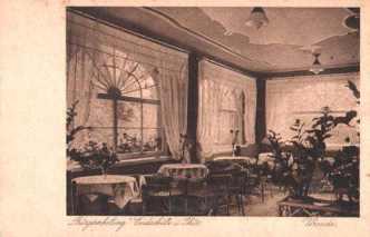 Gasthof Bürgererholung Endschütz Innenansicht aus dem Jahr 1928