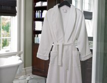 Ritz-carlton Hotel - Diamond Waffle Robe Luxury