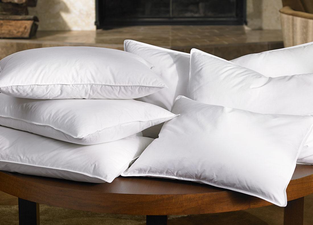 RitzCarlton Hotel Shop  Down Pillow  Luxury Hotel