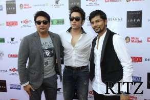 FormatFactoryShekar and Adhyayan Suman with SINS designer Shikhar Vaidya