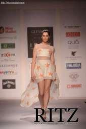 FormatFactorya model showcasing Sai Suman's collectin at India Resortwear Fashion Week Day 2
