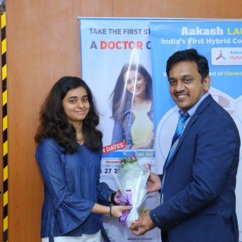 Aakash Institute Felicitates Its 3 Students For Exceptional Performance In NEET 2020 (2)