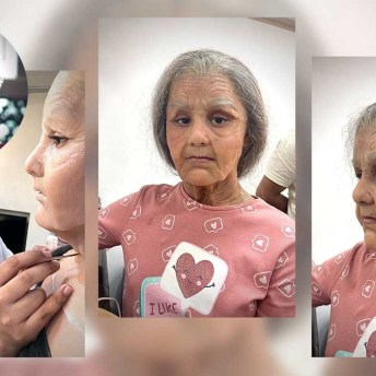 Preetisheel Singh Transforms 10-Year Old Girl Into A 90-Year Old (3)