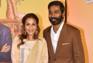 Dhanush Celebrates Wife Aishwarya R Dhanush's Birthday