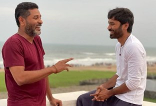 Dhanush's Picture With Prabhudeva Goes Viral