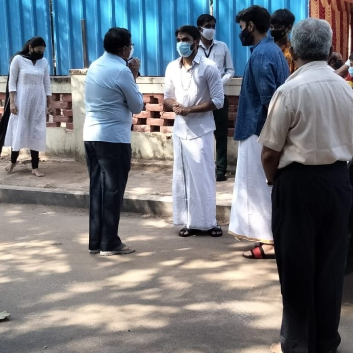 Dhanush To Build A New House In Chennai (1)