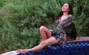 Pool And Breeze Beckons Feryna Wazheir In Dubai