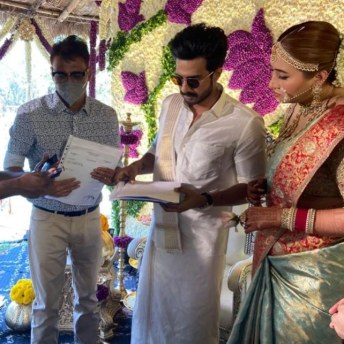 Vishnu Vishal Ties The Knot With Jwala Gutta (5)