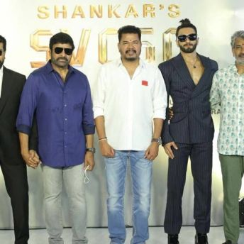 Shankar & Ram Charan's Film Goes On Floors (2)