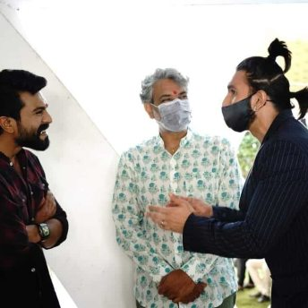 Shankar & Ram Charan's Film Goes On Floors (3)