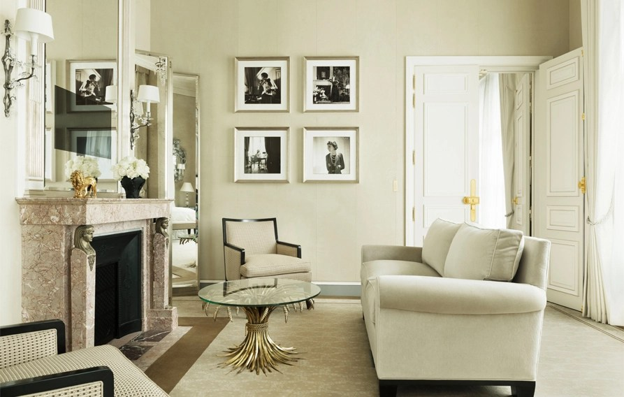 AFTER: The newly refurbished Coco Chanel suite at the Hotel Ritz Paris.