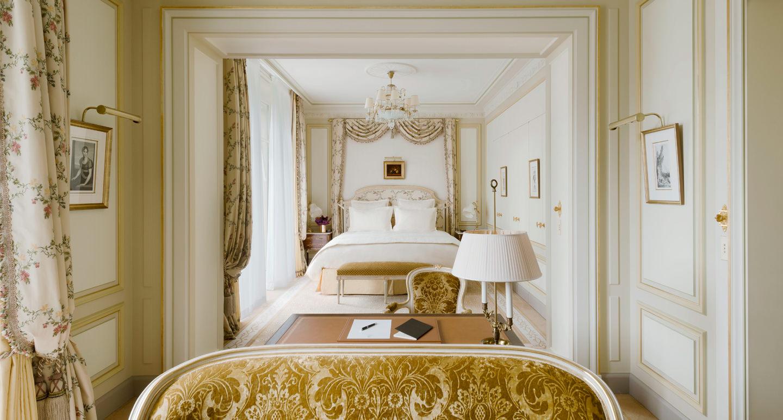 Chambre Deluxe Htel Ritz Paris 5 Toiles