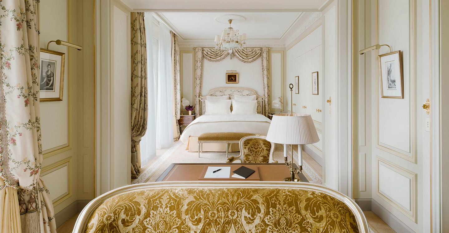 Grand Deluxe Room  Hotel Ritz Paris 5 stars