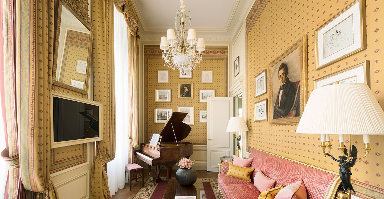 Chopin Suite  Htel Ritz Paris 5 stars