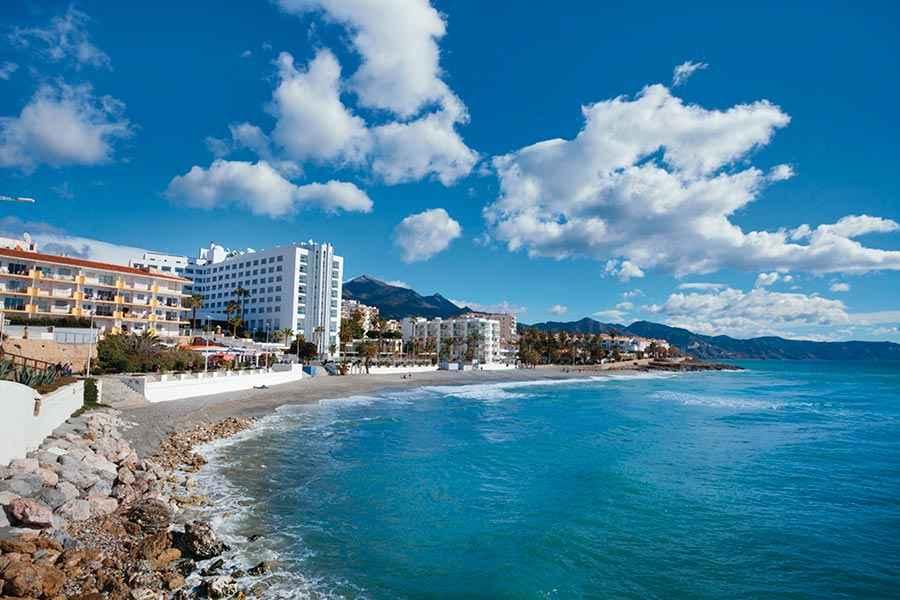 Hotel Riu Monica  Hotel La Torrecilla Beach Nerja