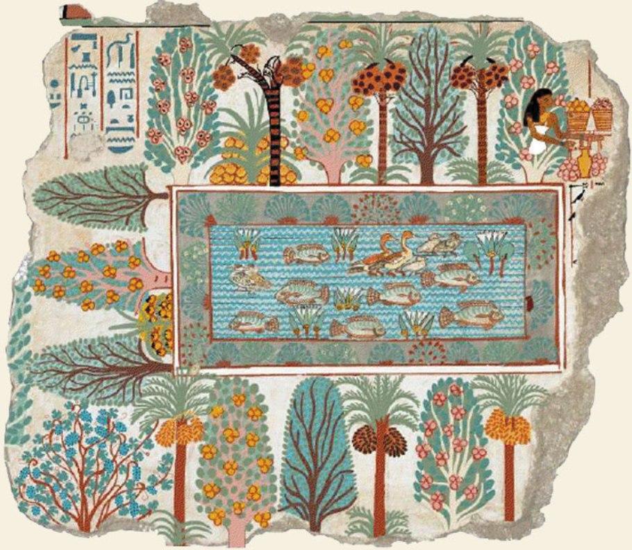 Peinture gyptienne dans lAntiquit