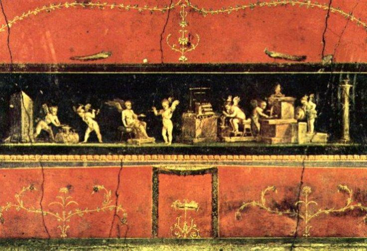 Peinture et mosaque romaines de lAntiquit