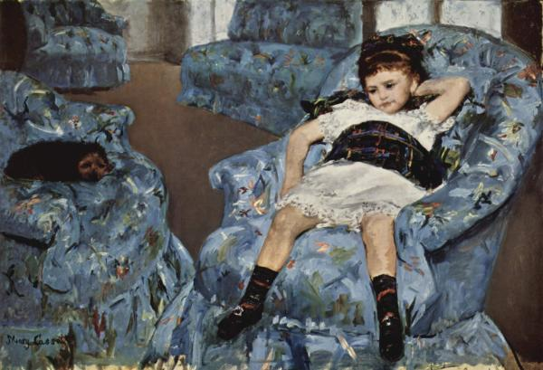 Biographie Uvre De Mary Cassatt 1843-1826
