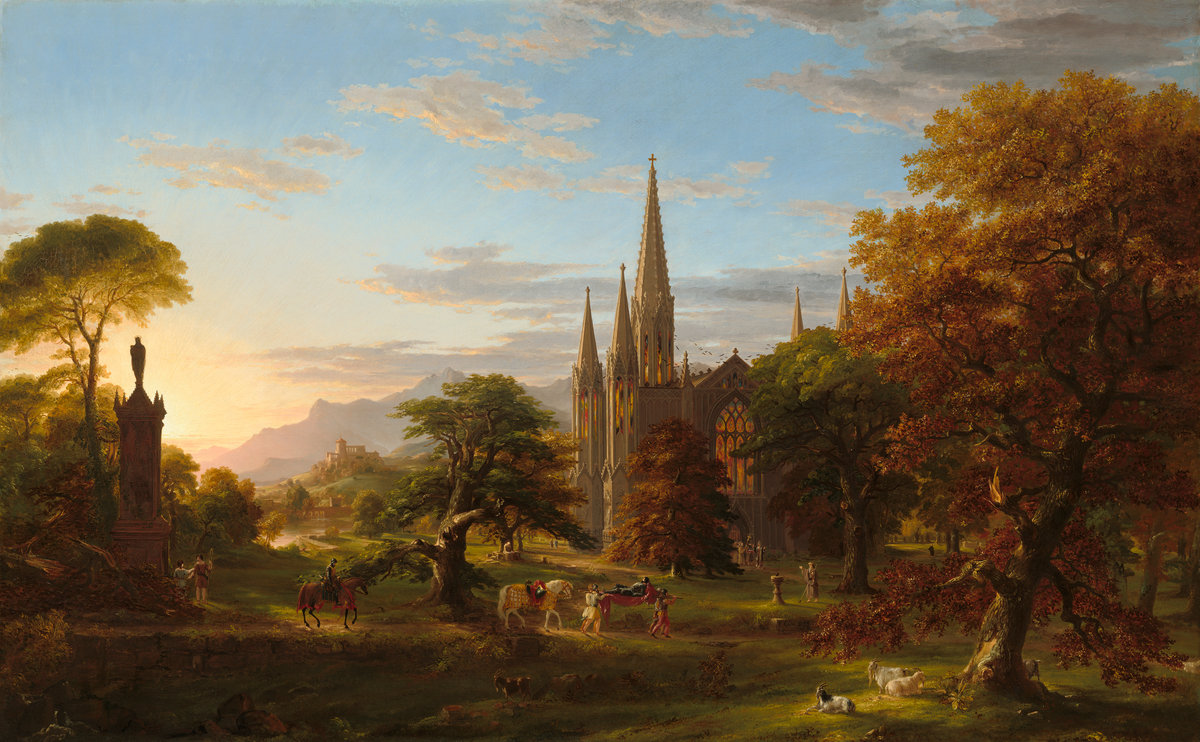 American Paint And Wallpaper Fall River Biographie Et Uvre De Thomas Cole 1801 1848