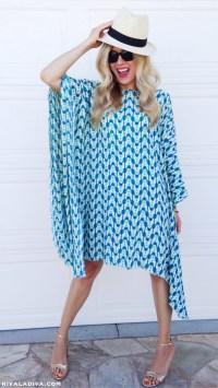The Perfect Summer Caftan Dress Tutorial - Riva la Diva