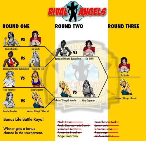 The Bonus Life Battle Royal Bracket