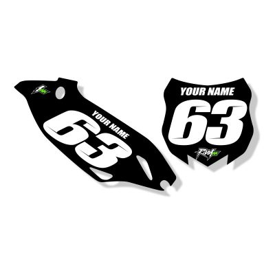 'STOCKER' NUMBER BOARD SET – YAMAHA