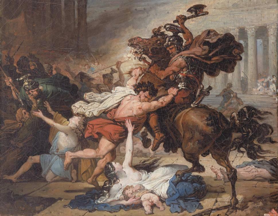 Revolt Painting