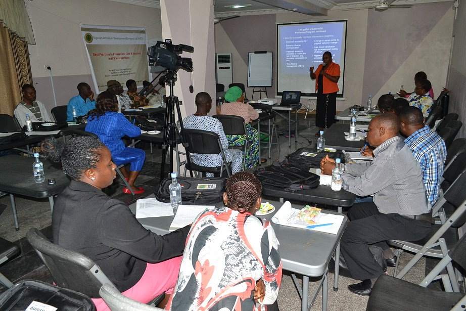 RIVCHO PARTNERS IHVN IN HIV/AIDS TRAINING