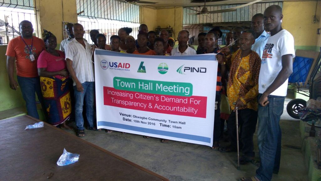RIVCHO Organizes Town Hall Meeting in Okwagbe
