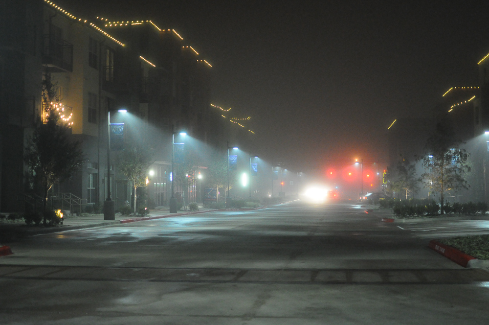 Foggy Alleyway