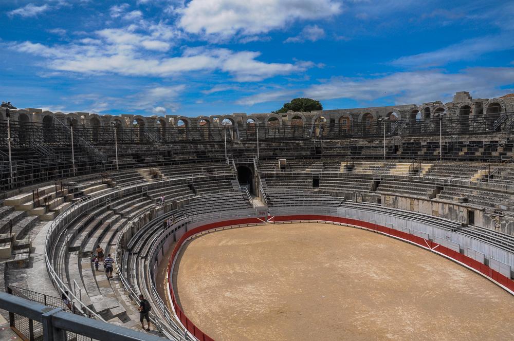 Bull Fighting Arena France